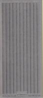 Stickervel 1004 zilver 10 x 23 cm