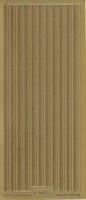 Stickervel 1004 goud 10 x 23 cm