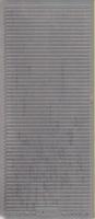 Stickervel 1222 zilver 10 x 23 cm