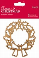 DC Wooden Shape Wreath