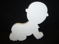 Styropor Baby afm. 31 x 29 x 3 cm
