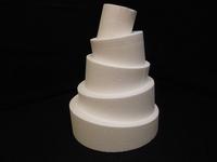Styropor topsy turvy taart