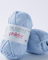 Phil Coton 3 - Azur - Tijdelijk niet Leverbaar -