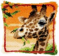 Knoopkussen pakket Etende Giraf