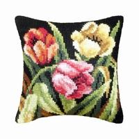 Kussenpakket Tumbling Tulips 40 x 40 cm