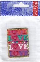 Applicatie Love met hartjes