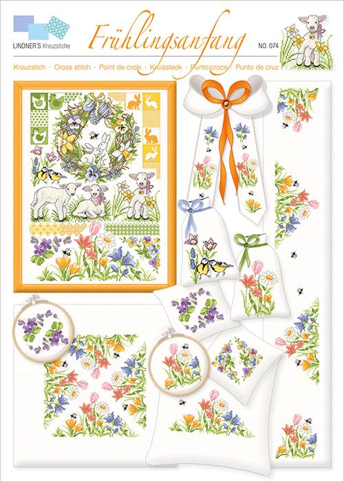 Lindner's borduurpatroon Frühlingsanfang