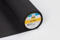 Vlieseline G 785 zwart 0,50 Meter