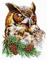 Borduurpakket Owl - Chudo Igla