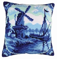 Kussenpakket Delftware - Collection d'Art