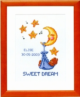Geboortetegel Sweet Dream