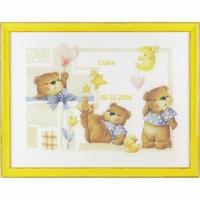 Geboortetegel Claire 3 beren