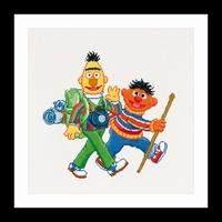 Thea Gouverneur Sesamstraat, Ernie & Bert
