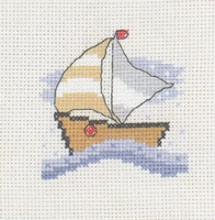 Mini-kit zeilboot