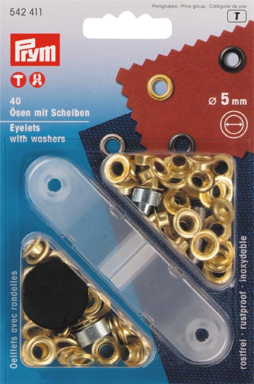 Ringen met schijven 5 mm 40 stuks