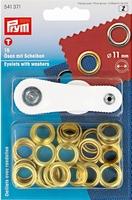 Ringen met schijven 11 mm 15 Stuks