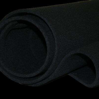Vilt Zwart 10 cm
