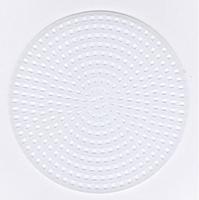 Plastic stramien rond 7,5 cm 4 stuks