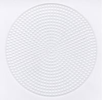 plastic stramien rond 11,5 cm 4 stuks