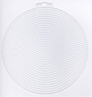 Plastic stramien rond 14,5 cm 4 stuks