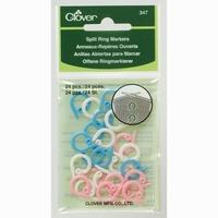 Split Ring Markers 24 stuks
