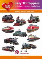 Easy 3D-Toppers, Locomotives