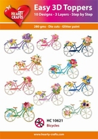 Easy 3D-Toppers, Bicycles