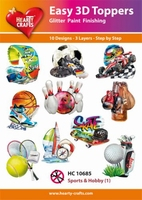 Easy 3D-Toppers, Sports & Hobby