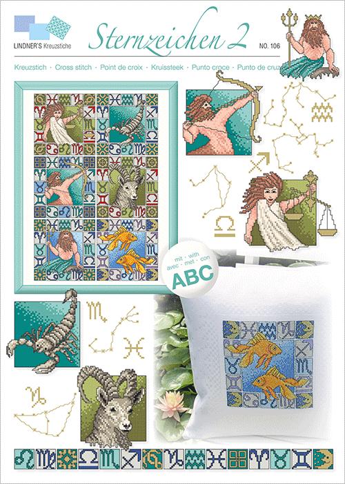Lindner's borduurpatroon Sterrenbeelden 2
