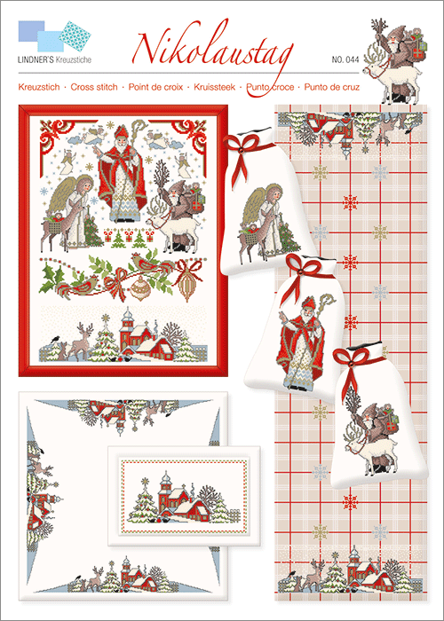 Lindner's borduurpatroon Kerst