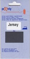 Reparatiedoek Jersey Donker Grijs