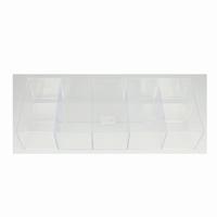 Hobbybox glashelder 10 vakjes