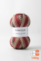Pingo Colors Bordeaux 100 gram