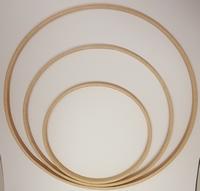 Houten Ring 30cm 1cm breed
