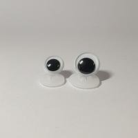 Veiligheids ogen, beweegbaar 1 paar