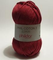 Phil Coton 3 - Aubergine * NIEUW *