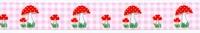 Padenstoelen Lint Rose 1 meter