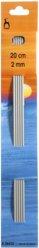Sokkennaalden Lengte: 20cm 5st. Dikte ø mm: 2mm