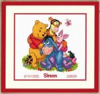 Telpakket kit Disney Winnie the Pooh en Vrienden