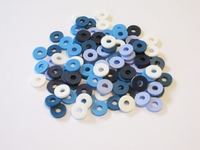 Katsuki Mix, 6mm, Blue jeans 100 stuks