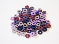 Katsuki Mix, 6mm, Purple magic 100 stuks