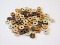Katsuki Mix, 6mm, Beige, Brown woody 100 stuks