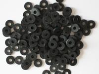 Katsuki, 6mm, Black midnight 100 stuks