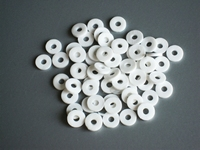 Katsuki, 6mm, White beach 100 stuks