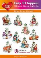 Easy 3D Designs pakket Christmas Trees