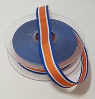 Koningslint blauw oranje 1 meter