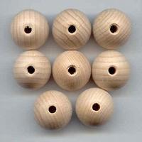 Houten Kraal 20mm 8st 8 stuks