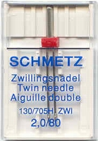 Schmetz Tweeling Naaimachine Naald 1 stuks
