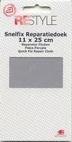 Reparatiedoek (grijs) 11 x 25 cm