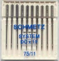 Schmetz DCx1F Dikte: 75/11 10 stuks
